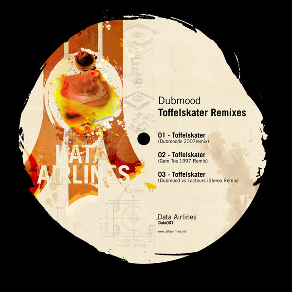 Dubmood – Toffelskater Remixes (DATA007)